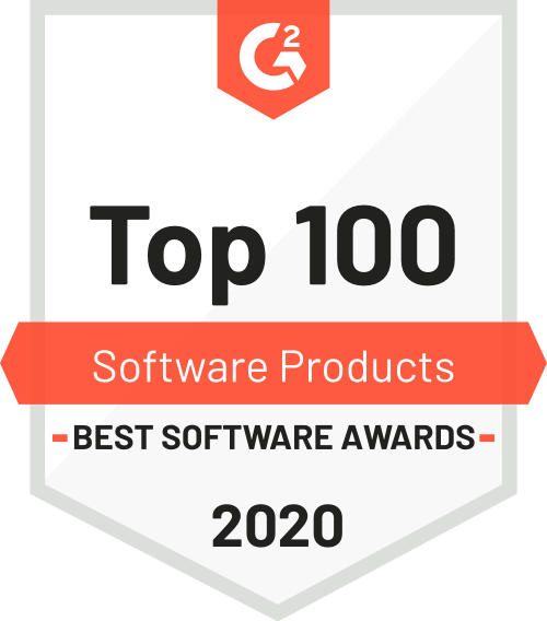 G2 BSA Top 100 Software Products