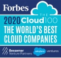Listed in the Top 20 of the Forbes Cloud 100