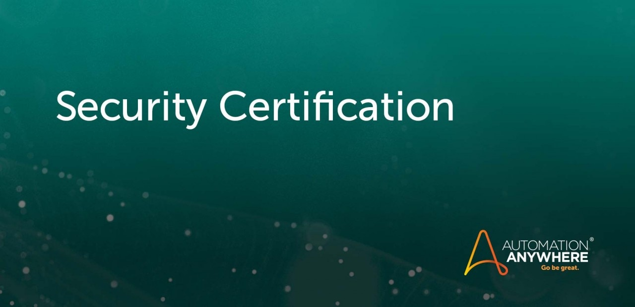 security-certification