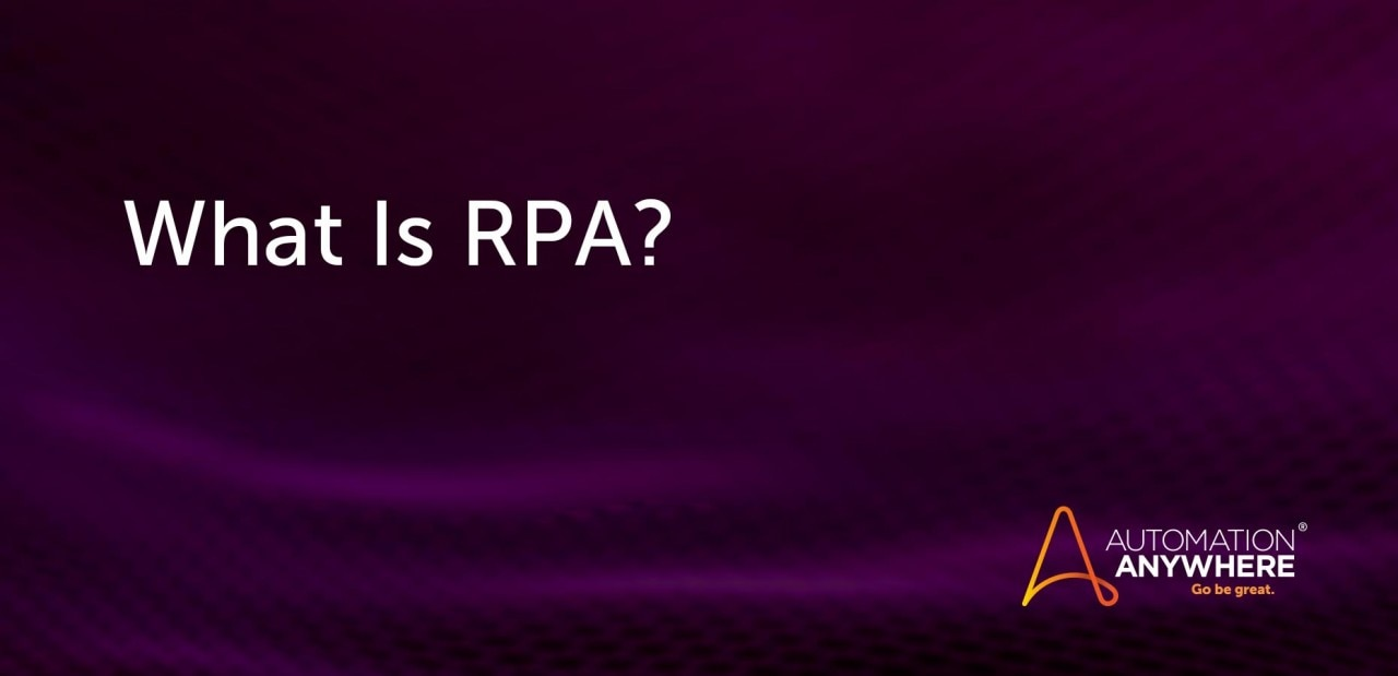 what-is-rpa