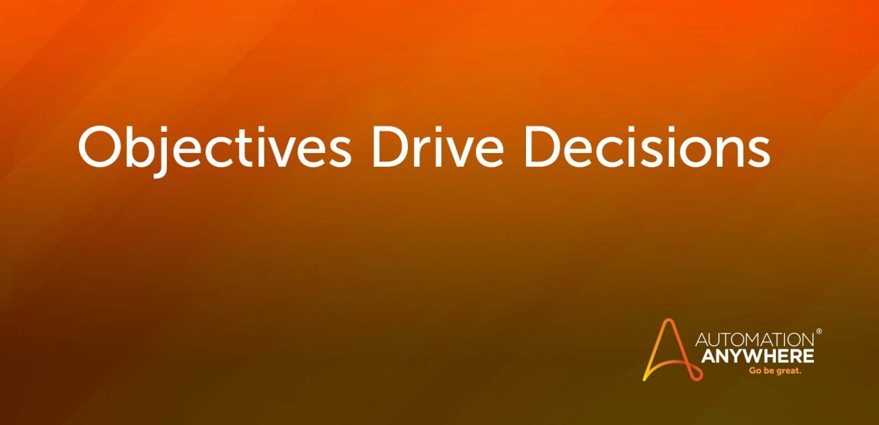objectives-drive-decisions
