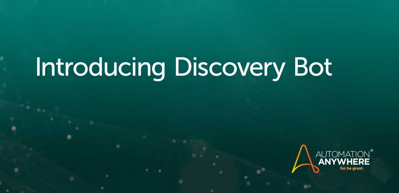 How Process Discovery Drives Automation