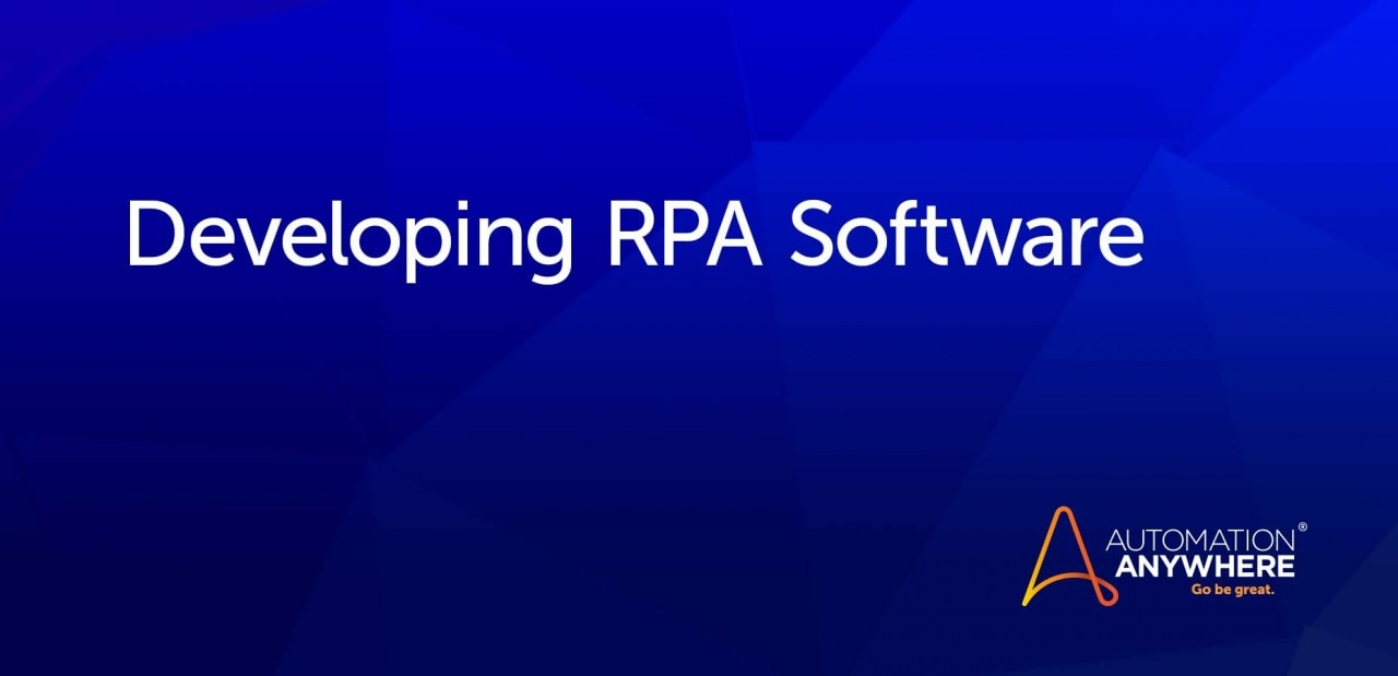 developing-rpa-software