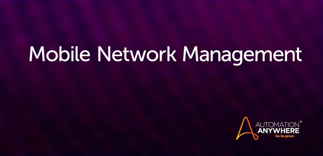 mobile-network-management