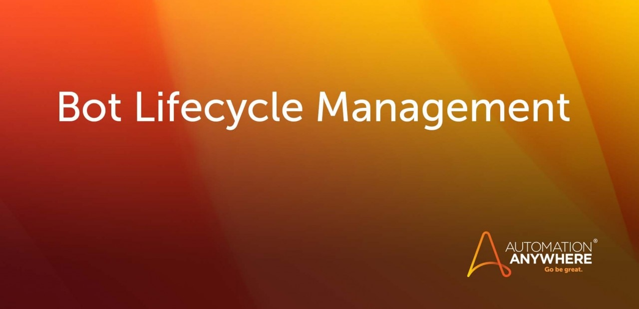 bot-lifecycle-management